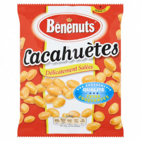 Cacahuètes délicatement salées Bénénuts 220 g