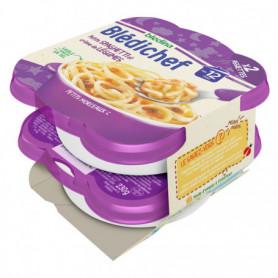BLEDICHEF 2x230g Petits Spaghetti et Crème de Légumes - Dès 12 mois