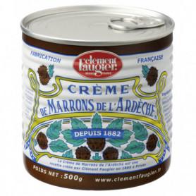 Crème de marrons de l'Ardèche CLEMENT FAUGIER Boite 500grs
