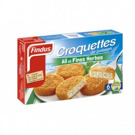 Croquettes Poisson MSC Ail et Fines Herbes 300g