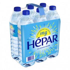 eau minérale naturelle HEPAR 6 x 1L