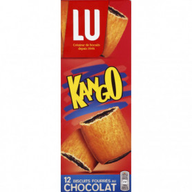 Bsicuits ChocolatX12 Kango LU 225Grs