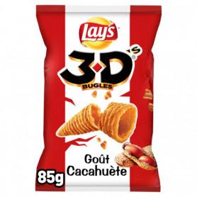 3D's Bugles goût cacahuète Lay's 85 g
