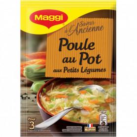Poule au Pot aux petits légumes Saveur à l'Ancienne MAGGI 58grs