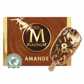 Magnum Glace Batonnet Amande 8x110ml