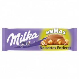 Chocolat MMMAX Lait au Noisettes Entières Milka 270grs
