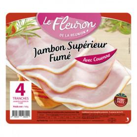 JAMBON FLEURON CUIT SUP FUM.X4 160