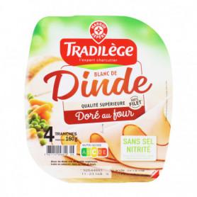 Blanc de dinde - TRADILEGE- 4 tranches- 160G