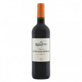 Vin rouge Bordeaux Château Les Terrasses de bouey 75cl