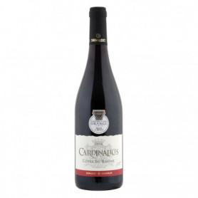 Vin rouge Côtes du Rhône Les Cardinalices 75cl