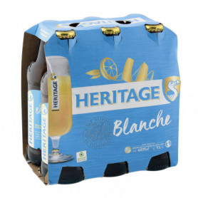 HERITAGE BLANCHE 6X33CL