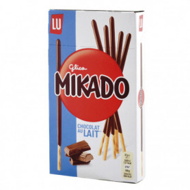 BISCUIT CHOCOLAT AU LAIT MIKADO LU 75GRS