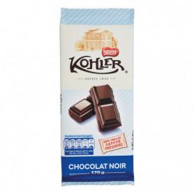 TABLETTE DE CHOCOLAT NOIR SUPERIEUR KOHLER NESTLE 170GRS