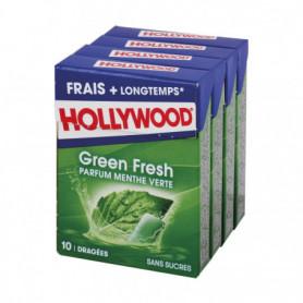 CONFISERIE GREEN FRESH X4 HOLLYWOOD 56GRS