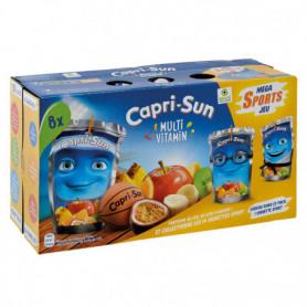 Boissons aux fruits caprisun multi vitamines 8*20 cl