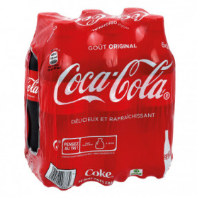 Bouteilles Coca-cola soda 6 X 50CL