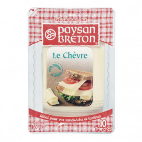 FROMAGE DE CHEVRE TRANCHETTE - PAYSANS BRETON- 160G
