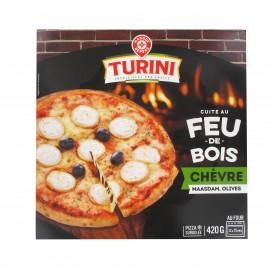 PIZZA CHEVRE AU FEU BOIS TURINI 420G