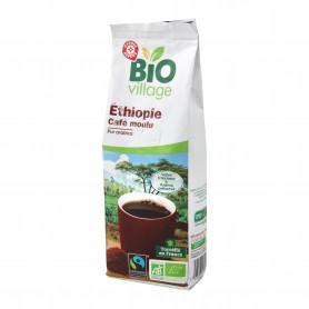 Café moulu d'Ethiopie bio pur Arabica Max Havelaar - Bio Village - 250 g