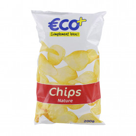 CHIPS NATURE ECO+ 200G