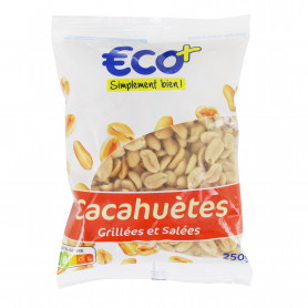 CACAHUETES GRIL SALEE ECO+ 250