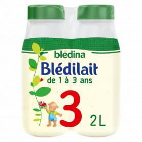 BLEDILAIT CROISSANCE 3 Nature BLEDINA 4 X 500ML