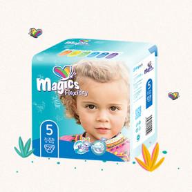 COUCHES MAGICS FLEXIDRY T5 - Junior 11-16Kg x 27