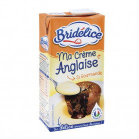 CREME ANGLAISE UHT BRIDELICE - 50CL