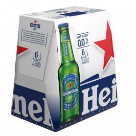 HEINEKEN 0.0 BIÈRE ZERO ALCOOL 6X25CL