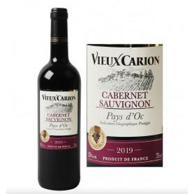 VIN DE PAYS D'OC CABERNET SAUVIGNON I.G.P - VIEUX CARION- 75CL
