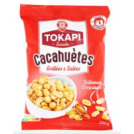 CACAHUETES GRILLES ET SALES TOKAPI 250GR