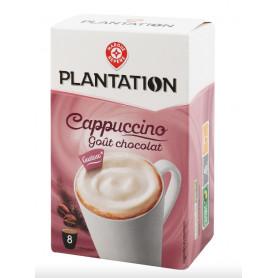 CAPPUCCINO CHOCOLAT 8 SACHETS- PLANTATION- 144GR