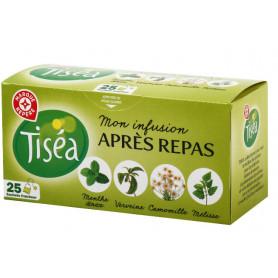 INFUSION APRES REPAS 25 SACHETS -TISEA- 40GR