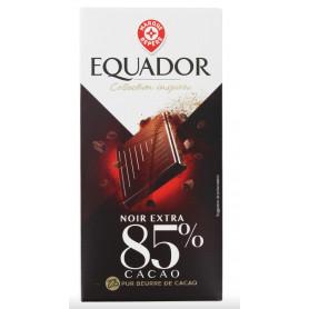 CHOCO NOIR 85% CACAO- EQUADOR- 100G