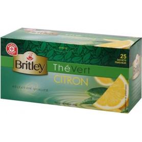 THE VERT CITRON 25 SACHETS- BRITLEY- 50GR