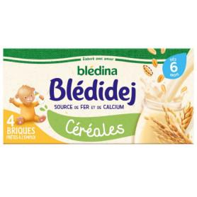 Blédina Bledidej Céréales Dès 6 Mois 4 x 250 ml