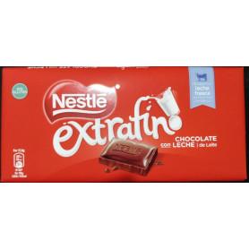 CHOCOLAT AU LAIT SANS GLUTEN EXTRAFINO NESTLÉ 125 G