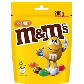 MM's PEANUT - Billes à la cacahuète enrobés de chocolat au lait - Pochon