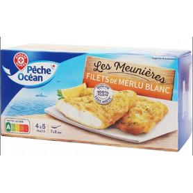 FILET MERLU BLANC MEUNIÈRE - PÊCHE OCÉAN - 450 G