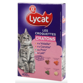CROQUETTES CHATON - LYCAT - 400G