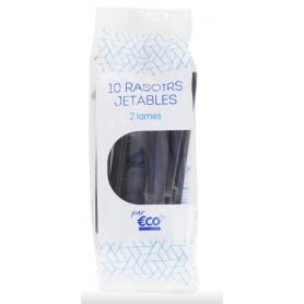 RASOIRS JETABLES 2 LAMES - ECO+ - X10