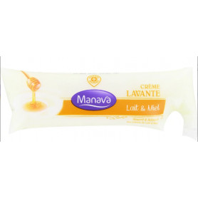 RECHARGE CRÈME LAVANTE LAIT  MIEL - MANAVA- 250 ML