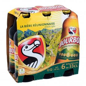 BIERE BOURBON PACK 6X33CL bouteille